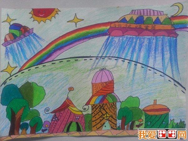 """""""地球一小时""""儿童绘画比赛开始啦!_教育_我爱画画网"""