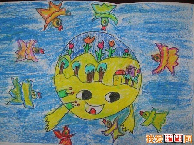 """""""地球一小时""""儿童绘画比赛开始啦!"""