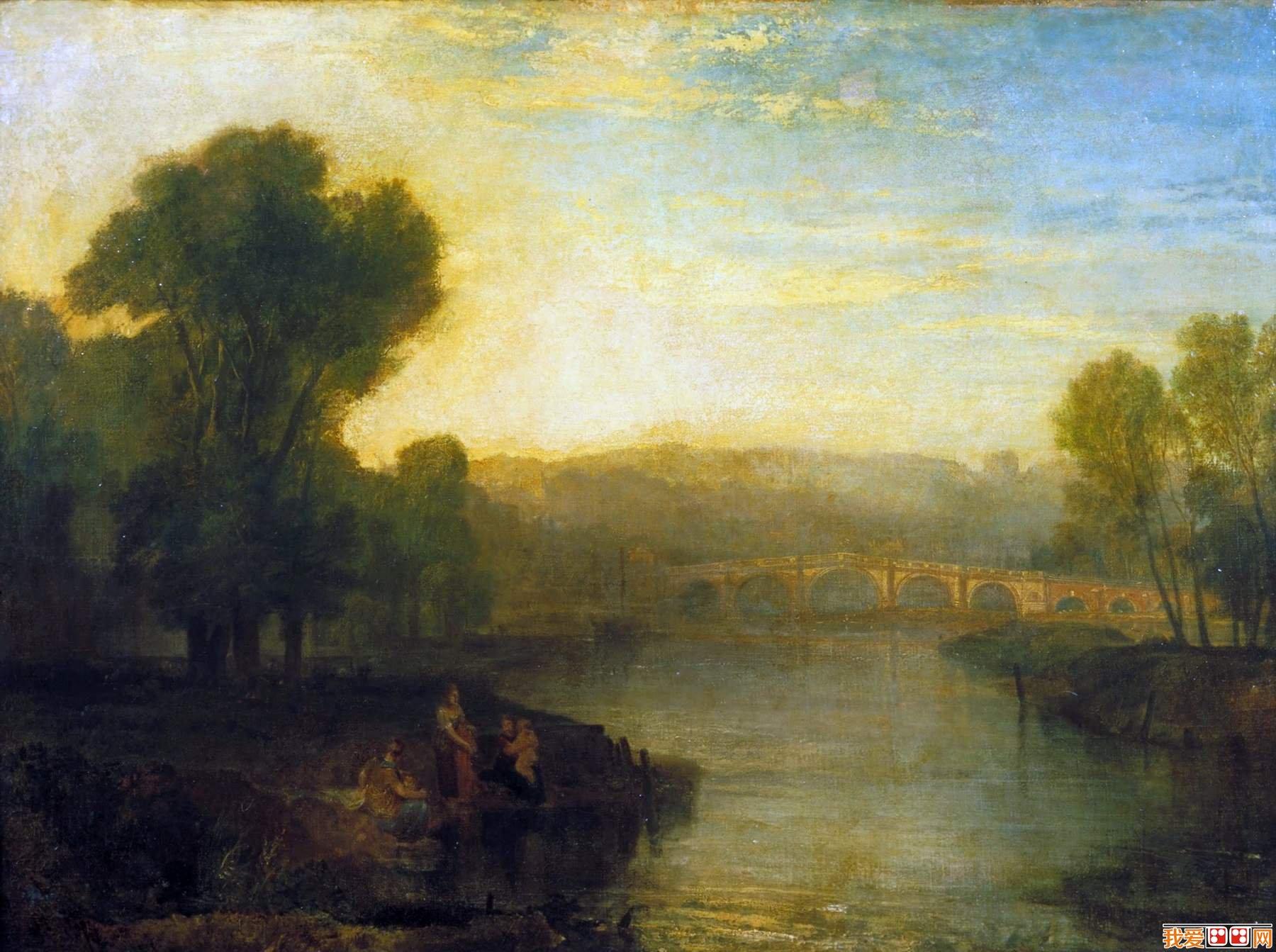 英国画家约瑟夫·马洛德·威廉·透纳风景油画作品赏析(3)