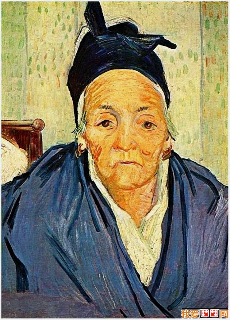 印象派画家梵高人物肖像油画作品欣赏 3