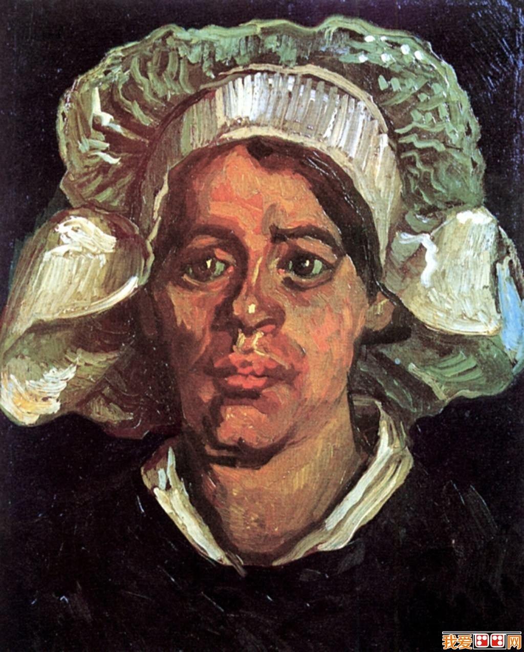 印象派画家梵高人物肖像油画作品欣赏 4