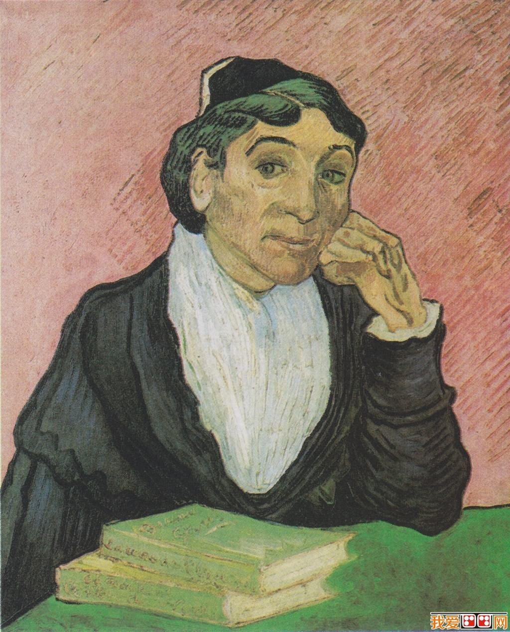印象派画家梵高人物肖像油画作品欣赏 6