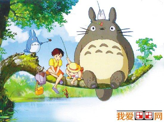 可爱的龙猫卡通画欣赏(3)