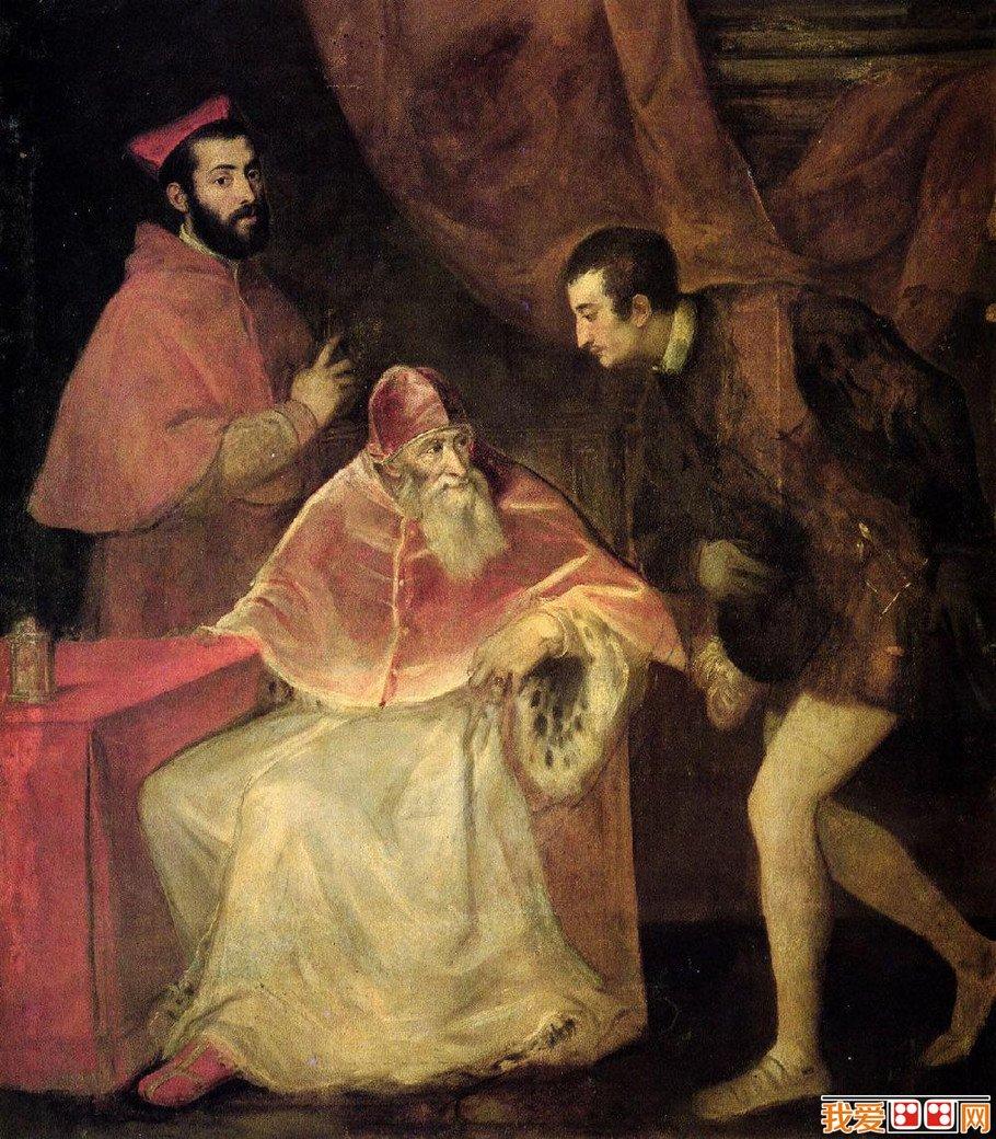 威尼斯画派提香·韦切利奥宗教人物油画作品赏析(3)