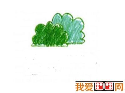 儿童画胡萝卜蜡笔画教程详解高清图片