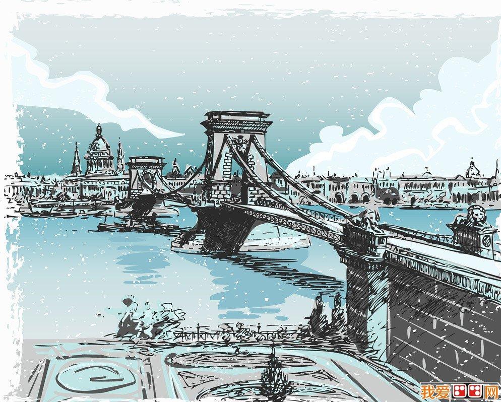欧洲建筑手绘作品欣赏(3)