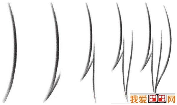 发型发型:快手教程漫画画法详解_其他绘画漫画女生网红头发教程男图片