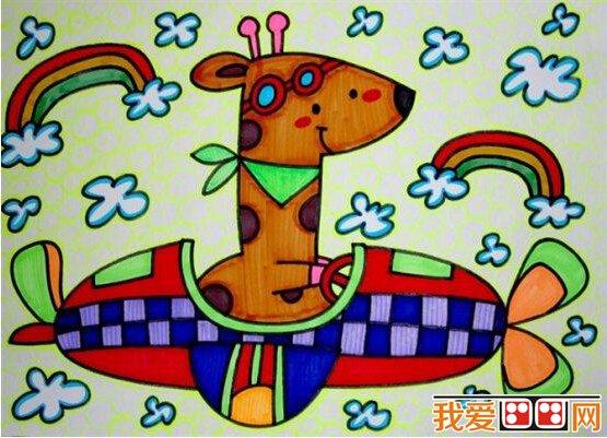 """""""我是小画家""""绘画比赛:儿童汽车画作品欣赏"""