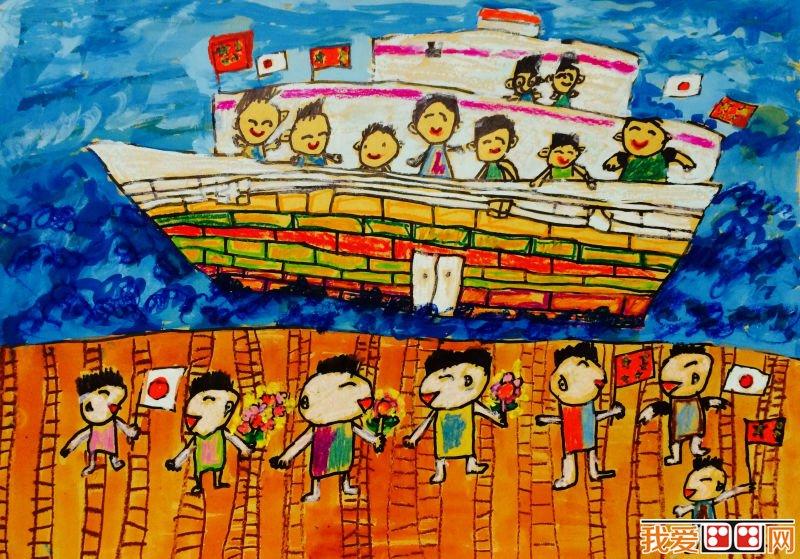"""《和平友好》 月26日,中日青少年绘画大赛(以下简称""""绘画大赛"""")在京举行颁奖典礼。《和中国妈妈一起贴窗花》和《中日友好》两幅作品分获中国组和日本组一等奖。本次大赛获奖作品将参加爱心义卖活动,得到的款项将用于援助残疾人和儿童福利事业。  中日青少年绘画大赛获奖作品《城市吸尘器》 中日青少年绘画大赛自2015年10月启动以来,先后收到618名中日青少年的绘画作品,小朋友通过画笔表现现实存在或想象中的世界和平、人与人之间和平相处的画面、或是青少年朋友们眼中的未来世界、希望在未来实现的小"""