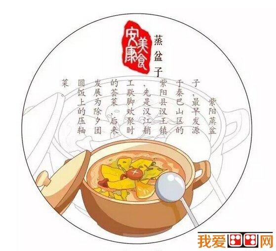 萌萌哒手绘《米西的安康》美食地图(3)