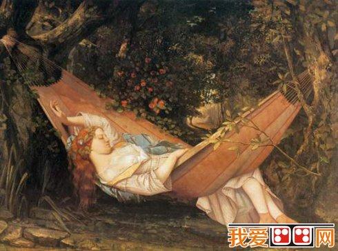 写实主义画家居斯塔夫·库尔贝著名人物油画作品赏析