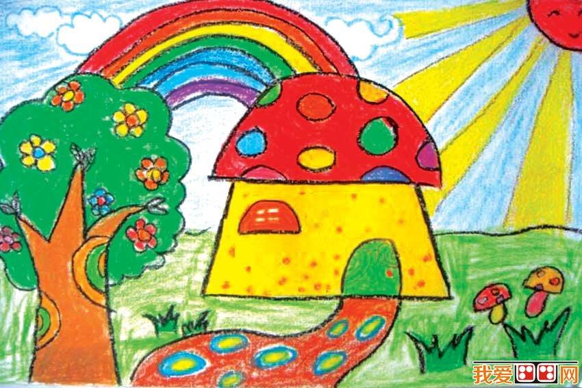 又如《房屋》一課,讓幼兒來寫生幼兒園內極普通