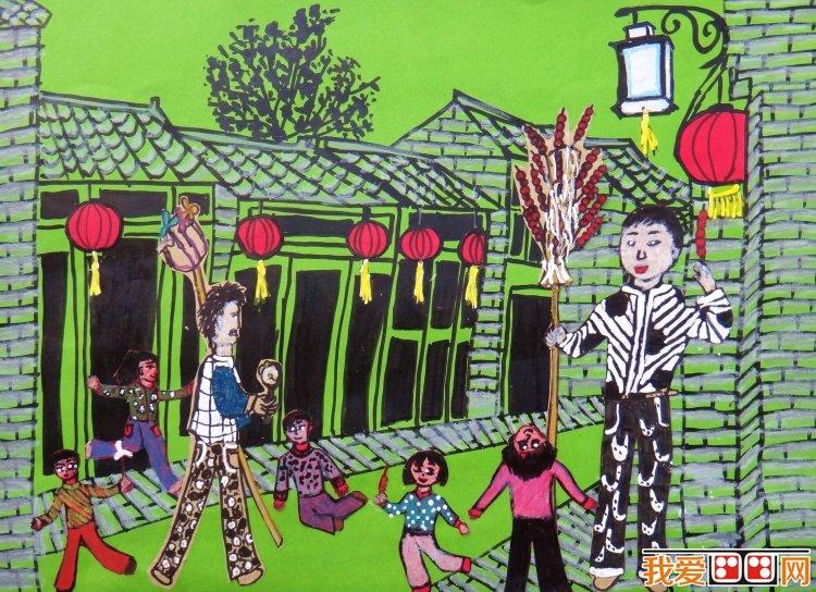 运河情:优秀儿童画作赏析(2)