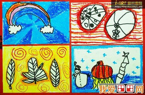 幼儿色彩感的培养与审美教育_教育_我爱画画网