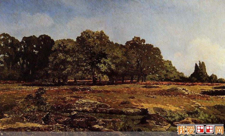 百科 世界名画 风景油画 > 法国画家艾尔弗雷德·西斯莱风景油画作品