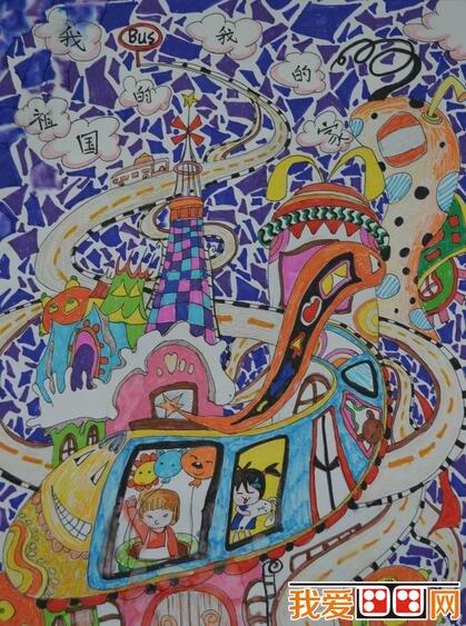 优秀创意儿童水彩画作品欣赏(5)
