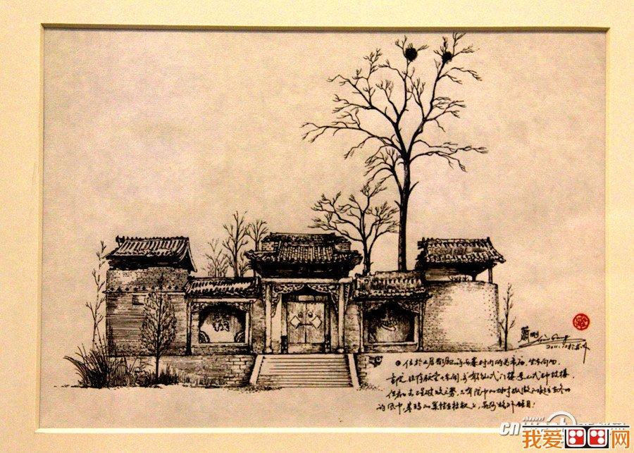 古建筑凭借着悠久的历史传统和光辉的成就