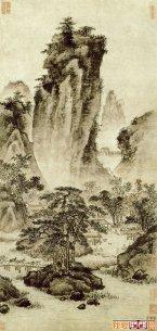 明代浙派著名山水画作品欣赏