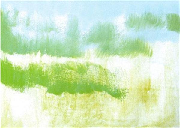 儿童水彩画:秋天儿童水彩画作品