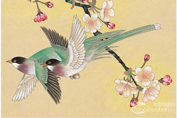 写意仙鹤 写意画仙鹤的精品国画欣赏 6
