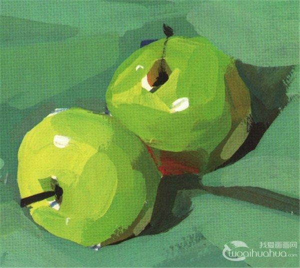 水粉静物画水果和蔬菜类图片欣赏