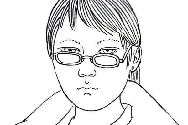 白描少女半身像的手法