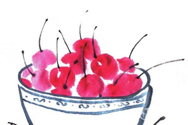 画向日葵教程 简单的向日葵儿童国画