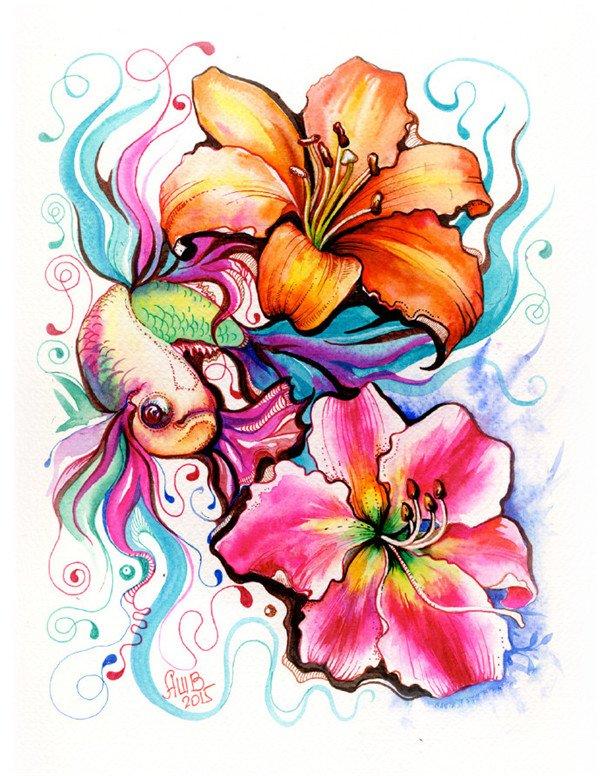 bucciarelli精美的手绘彩色插画欣赏