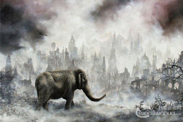 美国艺术家 Brian Mashburn绘画艺术作品欣赏