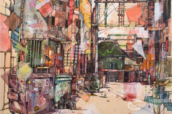 加拿大温哥华画家Jon Shawm绘画作品许欣赏