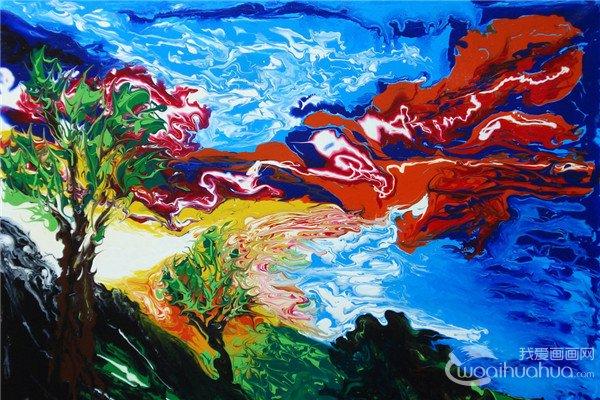 拉脱维亚艺术家Svetlana shumska绘画作品欣赏