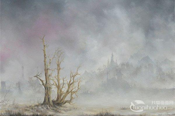 美国艺术家Brian Mashburn绘画艺术作品欣赏