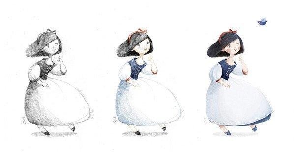 越南插画师Tamypu可爱卡通插画作品欣赏