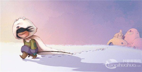 西班牙自由插画师aliciaorges卡通插画作品欣赏