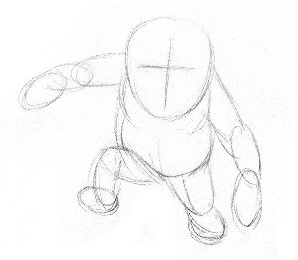 素描猩猩宝宝的绘画步骤_素描教程_学画画_我爱画画网