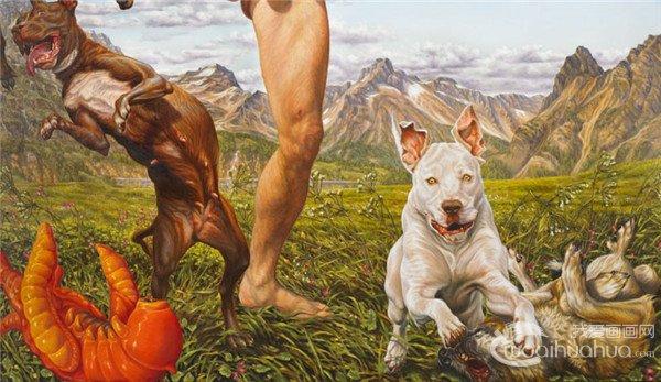 现居德国的艺术家Susannah Martin的绘画作品欣赏