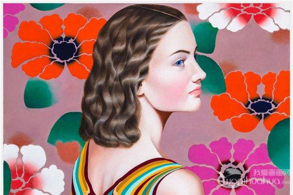 美国纽约画家Jocelyn Hobbie肖像绘画作品欣赏