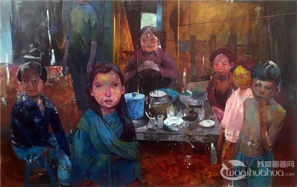 美国艺术家Andrew Hem的绘画作品欣赏