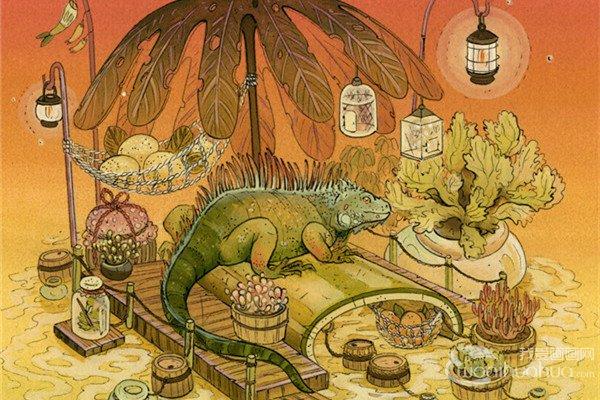 美国插画师NicoleI Gustafsson插画作品欣赏