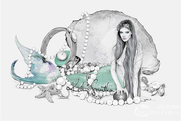 澳大利亚Kelly Smith时尚插画设计欣赏