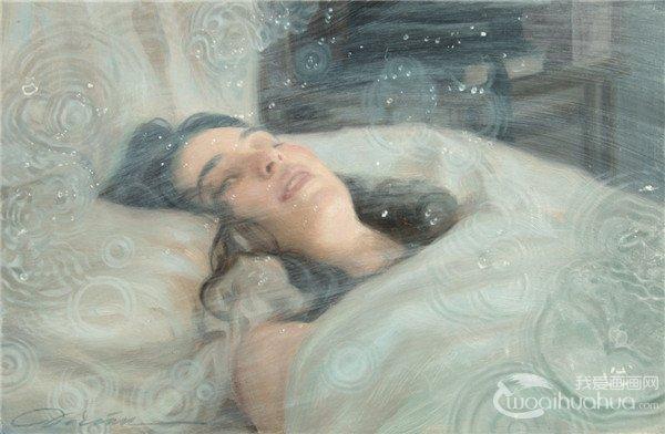 美国艺术家Dorian Vallejo油画绘画作品