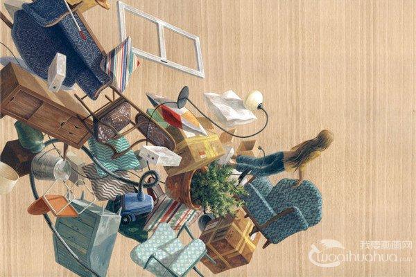 西班牙艺术家Cinta Vidal Agulló创意绘画作品欣赏