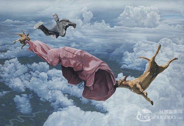 澳大利亚艺术家joel rea绘画作品欣赏