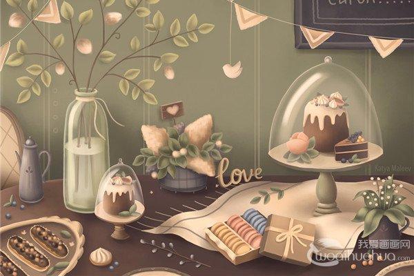 俄罗斯自由插画大师Katya Maleev卡通插画作品欣赏
