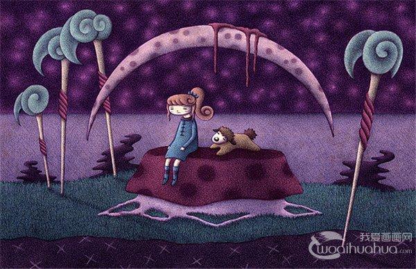 Stephanie Kunze幻想插画欣赏