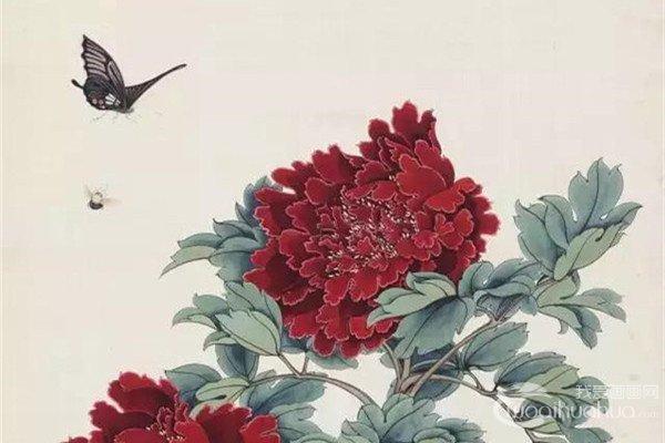 于照工笔花鸟画作品欣赏