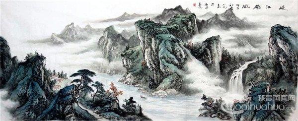 朱小凡国画山水作品欣赏