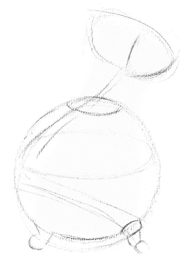 学画画 素描教程 静物素描 > 素描水葫芦的绘画教程(2)      一,素描