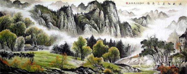 黄仲新国画花鸟作品欣赏