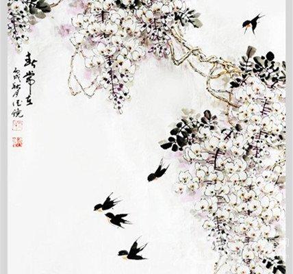 邱德镜国画花鸟作品欣赏